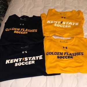 ONE OF A KIND KENT STATE SOCCER TRAINIG TOPS